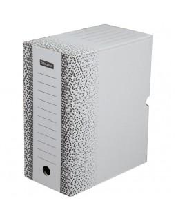 """Короб архивный с клапаном OfficeSpace """"Standard"""" плотный, микрогофрокартон, 150мм, белый, до 1400л."""