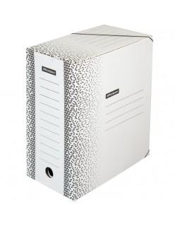 """Папка архивная на резинках OfficeSpace """"Standard"""" плотная, микрогофрокартон, 150мм, белая, 1400л."""