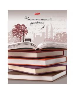 """Читательский дневник Hatber А5 48л. на скрепке """"Книжная пора"""""""