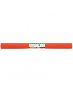 Бумага крепированная Greenwich Line, 50*250см, 32г/м2, темно-оранжевая, в рулоне