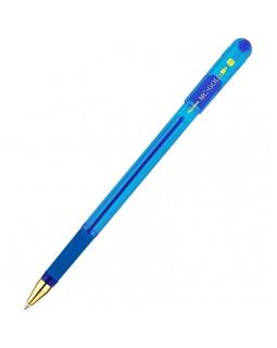 "Ручка шариковая MunHwa ""MC Gold"" синяя, 1,0мм, грип"