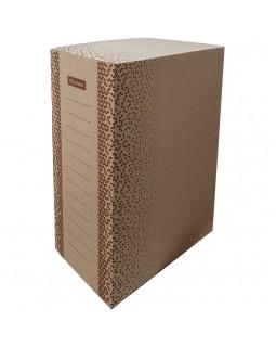 "Короб архивный с клапаном OfficeSpace ""Standard"" плотный, микрогофрокартон, 150мм, бурый, до 1400л."