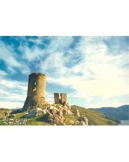 Крепость Чембало в Балаклаве. Открытка