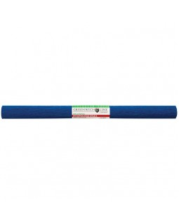 Бумага крепированная Greenwich Line, 50*250см, 32г/м2, темно-синяя, в рулоне