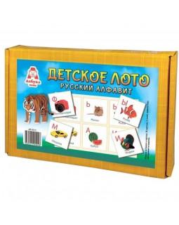 Детское лото Русский алфавит