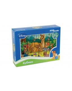 """12 кубиков """"Бемби"""" (Disney)"""