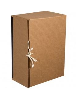 """Короб архивный вертикальный OfficeSpace """"Standard"""" плотный, с завязками"""