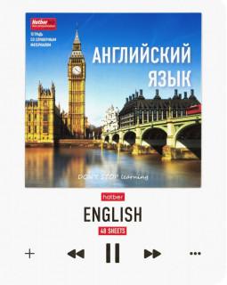 """Тетрадь """"Do not stop learning. Английский язык"""", А5, 48 листов, клетка"""