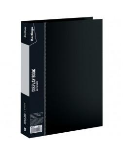 """Папка с 80 вкладышами Berlingo """"Standard"""", 30мм, 800мкм, черная"""