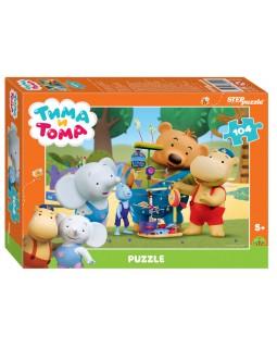 """Мозаика """"puzzle"""" 104 """"Тима и Тома"""" (Мармелад Медиа)"""