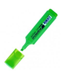 """Текстовыделитель MunHwa """"UnderLine"""" зеленый, 1-5мм"""