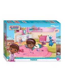 """Мозаика """"puzzle"""" 104 """"Доктор Плюшева"""" (Disney)"""