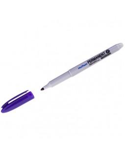 Маркер перманентный MunHwa фиолетовый, пулевидный, 1,5мм