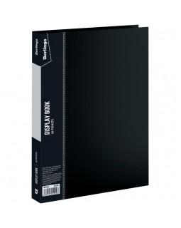 """Папка с 60 вкладышами Berlingo """"Standard"""", 21мм, 700мкм, черная"""