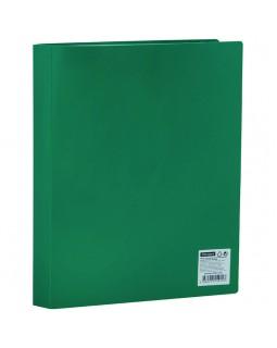 Папка с 60 вкладышами OfficeSpace, 21мм, 400мкм, зеленая