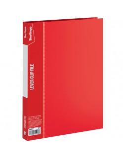 """Папка с зажимом Berlingo """"Standard"""", 17мм, 700мкм, красная"""