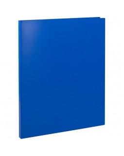 Папка с пружинным cкоросшивателем OfficeSpace, 14мм, 450мкм, синяя