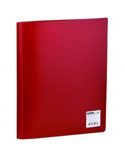 Папка с 30 вкладышами OfficeSpace, 21мм, 400мкм, красная