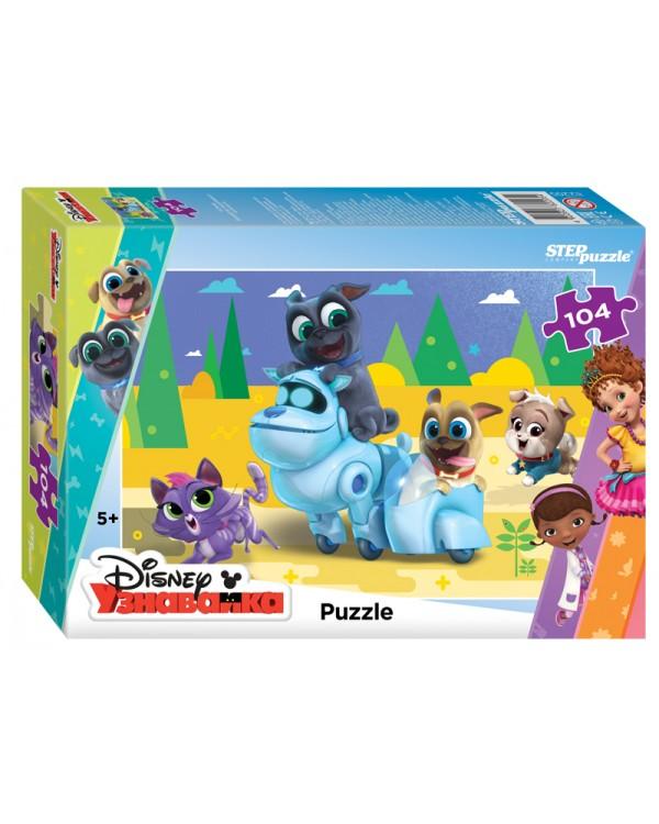 """Мозаика """"puzzle"""" 104 """"Дружные мопсы"""" (DisneyJunior)"""