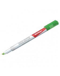 """Текстовыделитель Berlingo """"Textline HL420"""", зеленый, 0,5-4мм"""