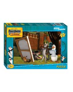 """Мозаика """"puzzle"""" 104 """" Пингвины из Мадагаскара"""" (Dreamworks)"""