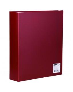 Папка с 80 вкладышами OfficeSpace, 30мм, 600мкм, красная