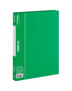 """Папка с пружинным скоросшивателем Berlingo """"Standard"""", 17мм, 700мкм, зеленая"""