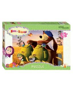 """Мозаика """"puzzle"""" 120 """"Маша и Медведь - 2"""" (Анимаккорд)"""