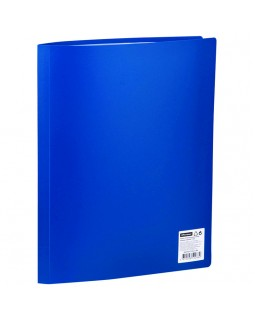 Папка с 30 вкладышами OfficeSpace, 21мм, 400мкм, синяя