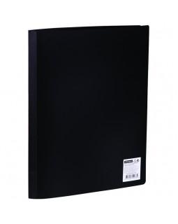 Папка с 20 вкладышами OfficeSpace, 17мм, 400мкм, черная