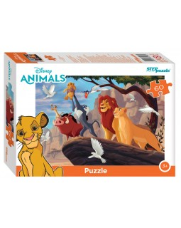 """Мозаика """"puzzle"""" 60 """"Король Лев"""" (Disney)"""