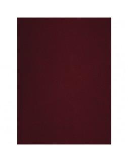 Тетрадь 96л., А4, клетка OfficeSpace, бумвинил, бордовый