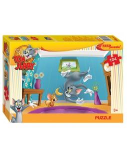 Мозаика puzzle 104 Том и Джерри