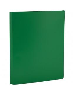 Папка с зажимом OfficeSpace, 14мм, 450мкм, зеленая
