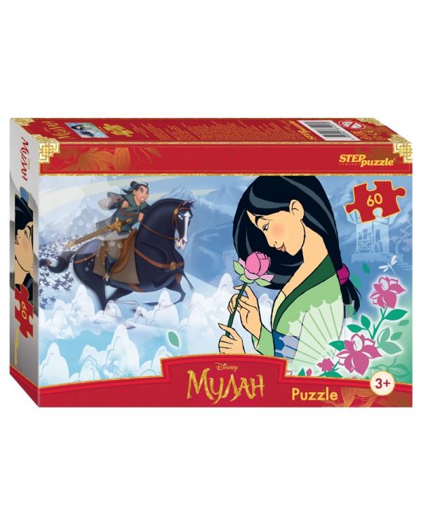 """Мозаика """"puzzle"""" 60 """"Мулан"""" (Disney)"""