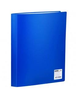 Папка с 60 вкладышами OfficeSpace, 21мм, 400мкм, синяя