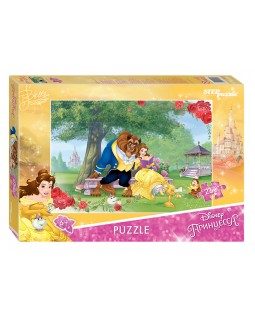 """Мозаика """"puzzle"""" 260 """"Красавица и Чудовище - 2"""" (Disney)"""
