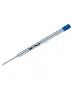 Стержень шариковый объемный Berlingo, синий, 99мм, 1мм, метал. корпус (Parker type)