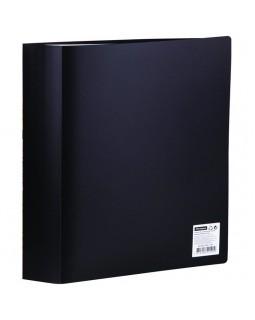 Папка с 80 вкладышами OfficeSpace, 30мм, 600мкм, черная
