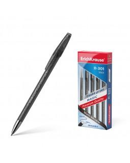 Ручка гелевая сo стираемыми чернилами ErichKrause® R-301 Magic Gel 0.5, черная