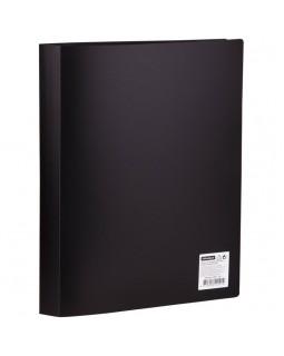 Папка с 40 вкладышами OfficeSpace, 21мм, 400мкм, черная