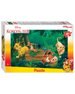 """Мозаика """"puzzle"""" 260 """"Король Лев (new)"""" (Disney)"""