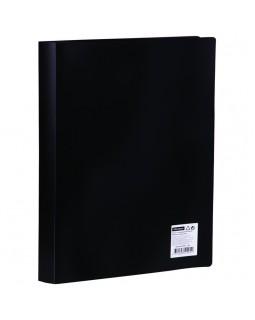 Папка с 60 вкладышами OfficeSpace, 21мм, 400мкм, черная