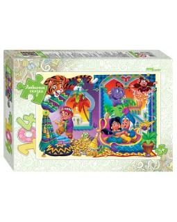 "Мозаика ""puzzle"" 104 ""Аладдин"" (Любимые сказки)"