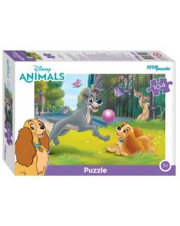 """Мозаика """"puzzle"""" 104 """"Зверята Дисней"""" (Disney)"""