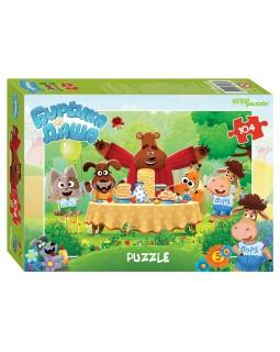 "Мозаика ""puzzle"" 104 ""Буренка Даша"" (Riki)"