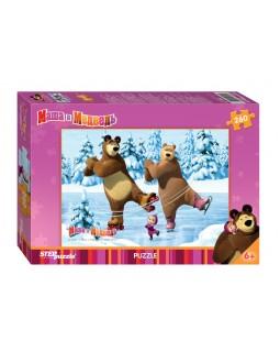 """Мозаика """"puzzle"""" 260 """"Маша и медведь"""" (анимаккорд)"""