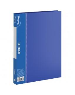 """Папка с пружинным скоросшивателем Berlingo """"Standard"""", 17мм, 700мкм, синяя"""