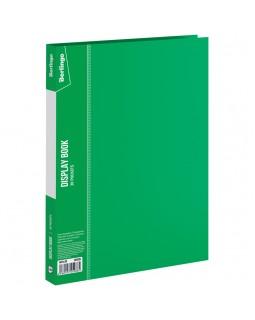 """Папка с 30 вкладышами Berlingo """"Standard"""" , 17мм, 600мкм, зеленая"""