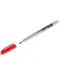 Маркер перманентный MunHwa красный, пулевидный, 1,5мм